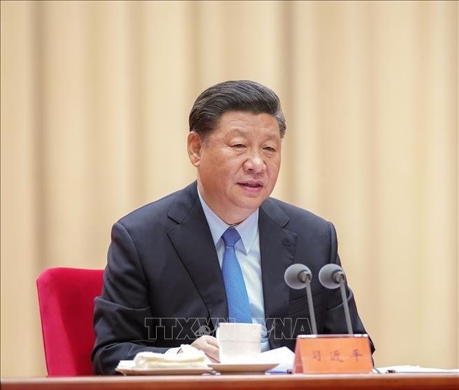 Eröffnung der Sitzung des chinesischen Zentralkomitees in Peking - ảnh 1