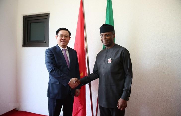 Verstärkung der Zusammenarbeit mit dem größten Partner Vietnams in Afrika - ảnh 1