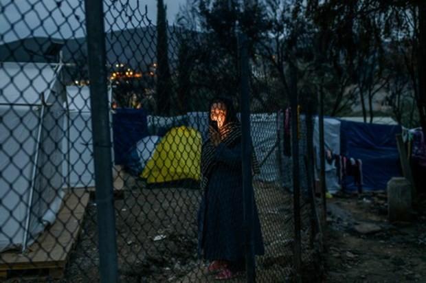 Griechenland will drei größte Flüchtlingslager schließen - ảnh 1