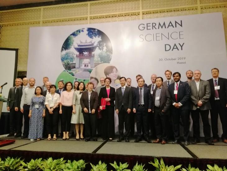 German Science Day 2019: Der Blick auf gute Forschungszusammenarbeit zwischen Vietnam und Deutschland - ảnh 1