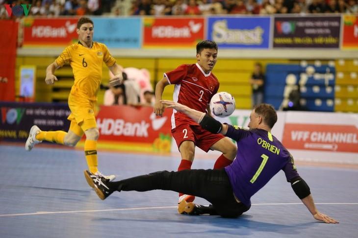 Große Chance für vietnamesische Futsal-Mannschaft zur Futsal-Weltmeisterschaft 2020 - ảnh 1