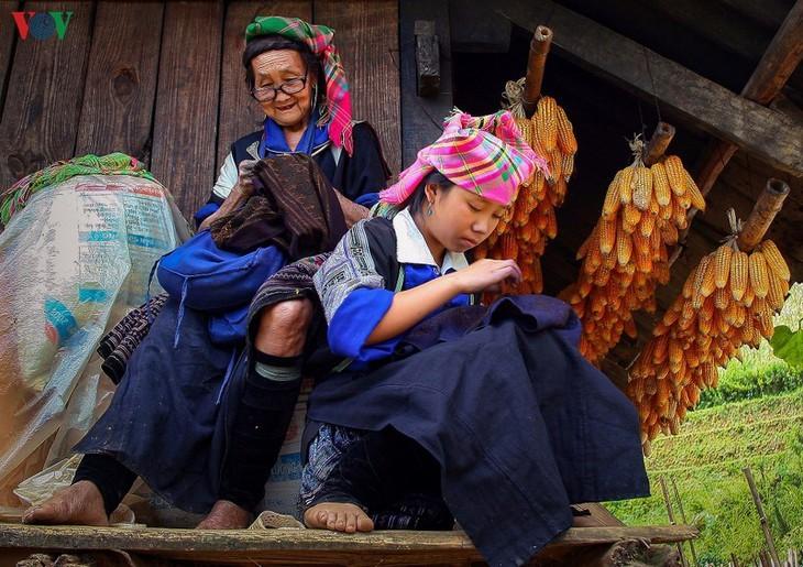 Stille Atmosphäre im Kreis Mu Cang Chai im Winter - ảnh 10