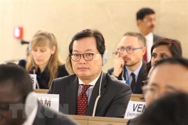 Vietnam nimmt am globalen Migrantenforum in Genf teil - ảnh 1