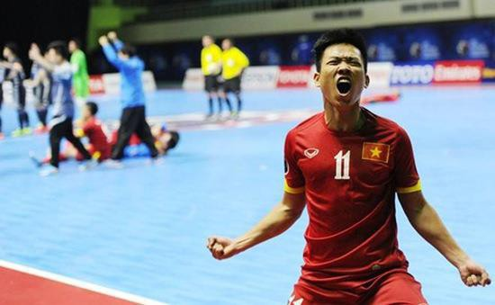"""Futsal-Spieler Tran Van Vu ist ein aussichtsreicher Kandidat für den Titel """"Goldener Fußball Vietnams 2019"""" - ảnh 1"""