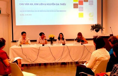 Junge Generation des PASCH-Netzwerks Hanoi: Erinnerungen und Pläne beim Deutschlernen - ảnh 1