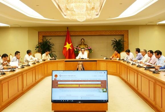 Regierung verstärkt die öffentlichen Online-Dienste für Bürger - ảnh 1