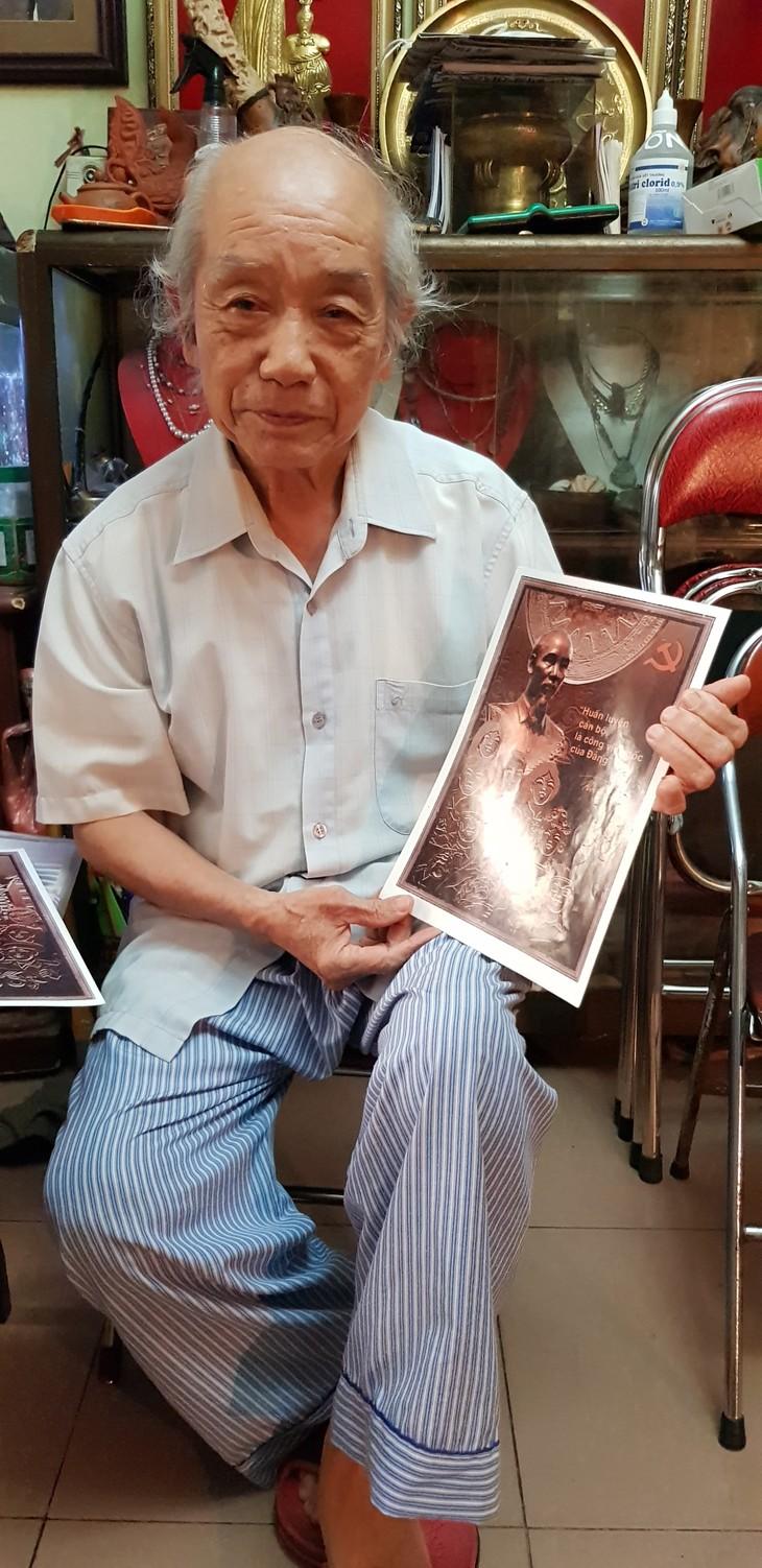 Typische Werke und Kunsteinrichtungen über Präsident Ho Chi Minh - ảnh 1