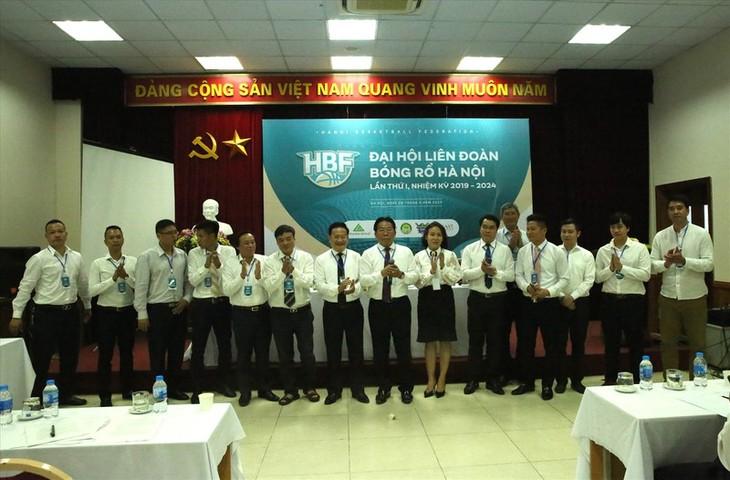 Gründung des Basketballverbandes der Stadt Hanoi - ảnh 1