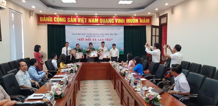 Online-Seminar über Vorbilder der Stadt Hanoi - ảnh 1