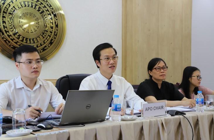 Vietnam übernimmt die Rolle als APO-Vorsitzender der Amtsperiode 2020-2021 - ảnh 1