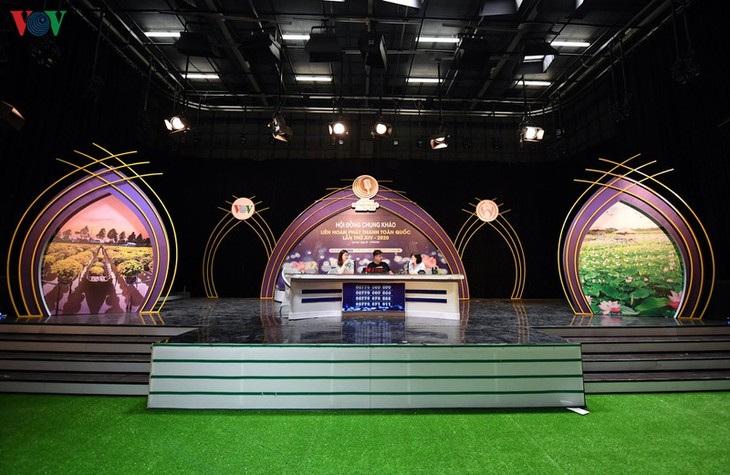 Live-Sendung-Wettbewerb beim 14. nationalen Radiofestival in Dong Thap - ảnh 1