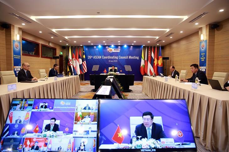 26. Konferenz des Koordinierungsrats der ASEAN - ảnh 1