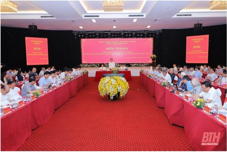 Seminar zum Aufbau und zur Entwicklung der Provinz Thanh Hoa - ảnh 1