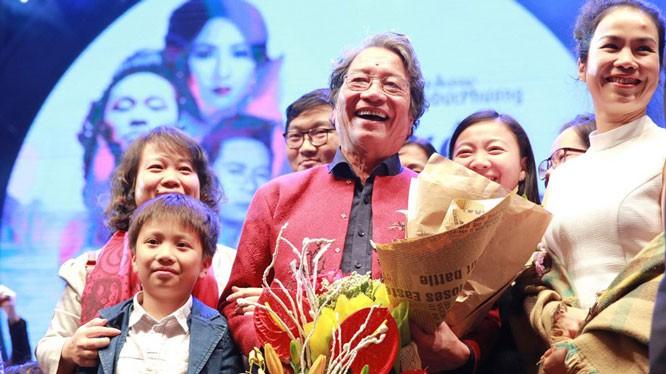 Konzert zur Ehrung des Komponisten Pho Duc Phuong im Opernhaus Hanoi - ảnh 1
