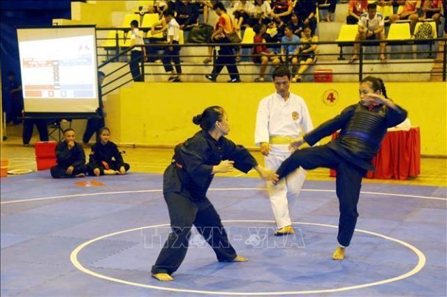 Abschluss des nationalen Pencak Silat-Turnier 2020 - ảnh 1
