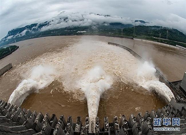 Überschwemmung in China und die Wasserbewirtschaftung im Oberlauf - ảnh 1