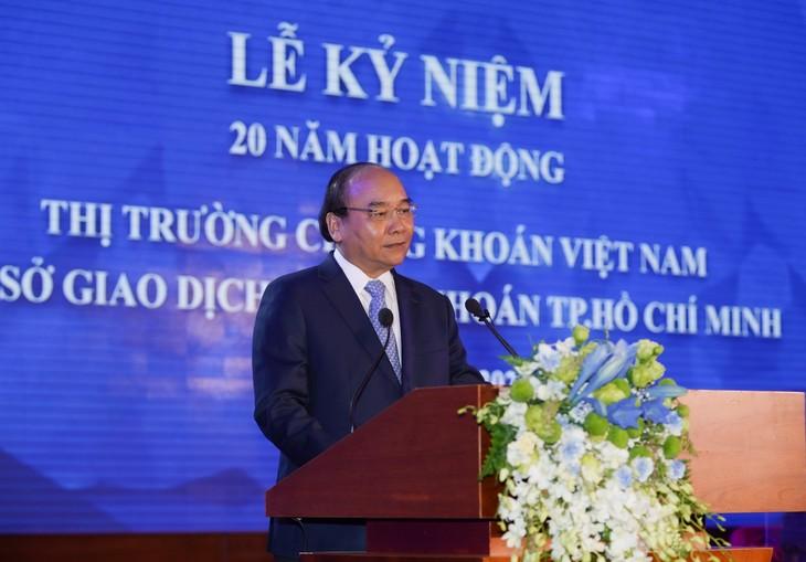 Premierminister: Ansehen der vietnamesischen Börse in der Region verbessern - ảnh 1