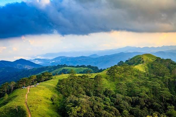 Trekking in Ta Nang-Phan Dung mit Gebirgen und Wäldern - ảnh 1
