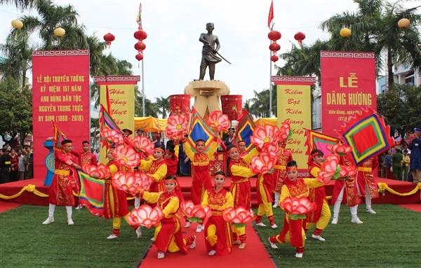 Unterlage zur Anerkennung des Festes Nguyen Trung Truc als nationales immaterielles Kulturerbe - ảnh 1