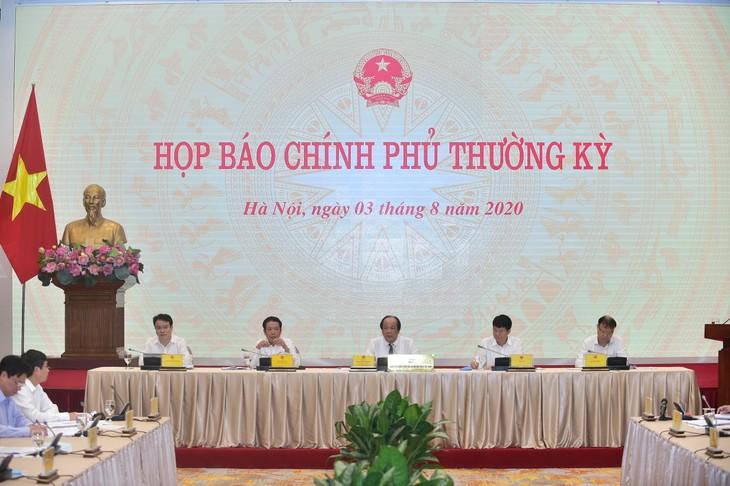 Pressekonferenz der Regierung: Stärke für Umsetzung von dualen Zielen schaffen - ảnh 1