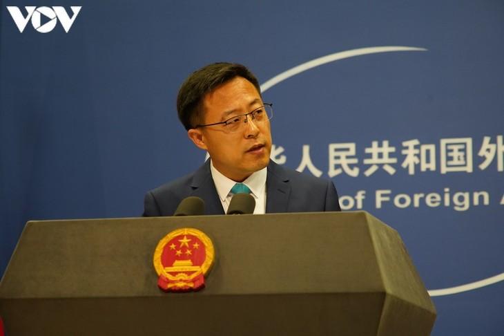 Chinesisches Außenministerium kündigt Strafe gegen elf US-Politiker an - ảnh 1
