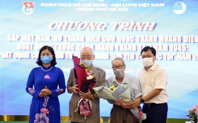 Jugendliche der Hauptstadt treffen ehemalige Jugendliche der Zitadelle Hoang Dieu - ảnh 1