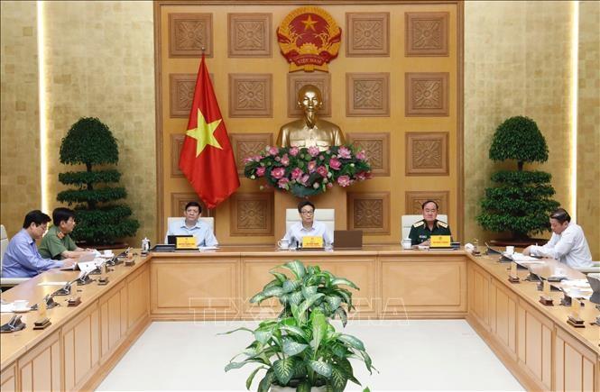Sitzung des Verwaltungsstabs für Vorbeugung und Bekämpfung der Covid-19-Epidemie - ảnh 1