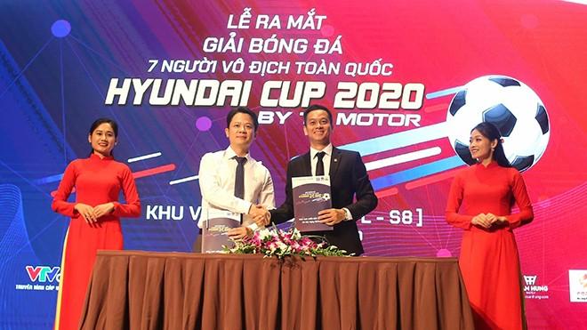 Start des nationalen 7-Spieler-Fußballturniers in Nordvietnam - ảnh 1