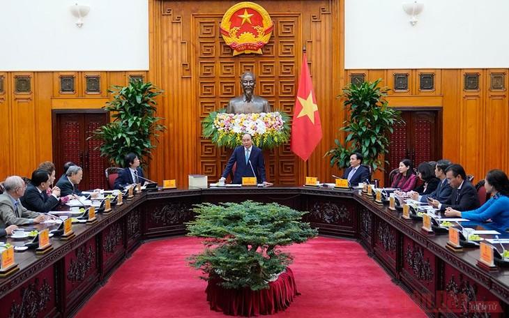 Premierminister Nguyen Xuan Phuc: Die Planung zur Stadtentwicklung soll eine Vision haben - ảnh 1
