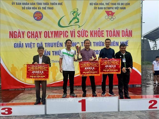 Fast 2000 Sportler nehmen am traditionellen Langlaufturnier in Thua Thien Hue teil - ảnh 1