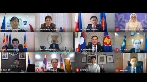 Vietnam ko-leitet Konferenz der Zusammenarbeitskommission zwischen ASEAN und Japan - ảnh 1