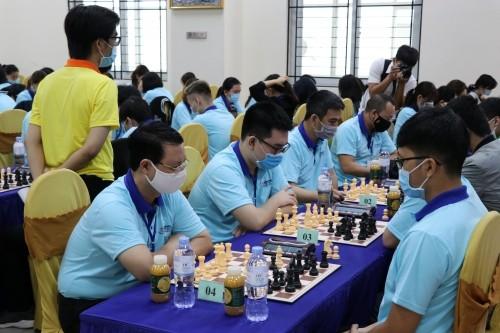 Eröffnung der nationalen Schachmeisterschaft LienVietPostbank 2021 - ảnh 1