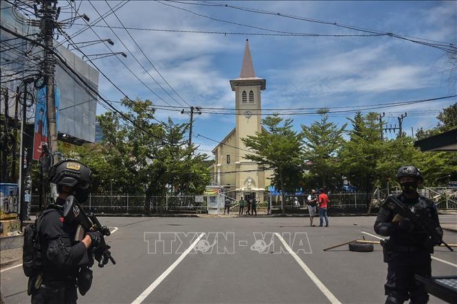 UN-Sicherheitsrat verurteilt den Bombenangriff auf Kirche in Indonesien - ảnh 1