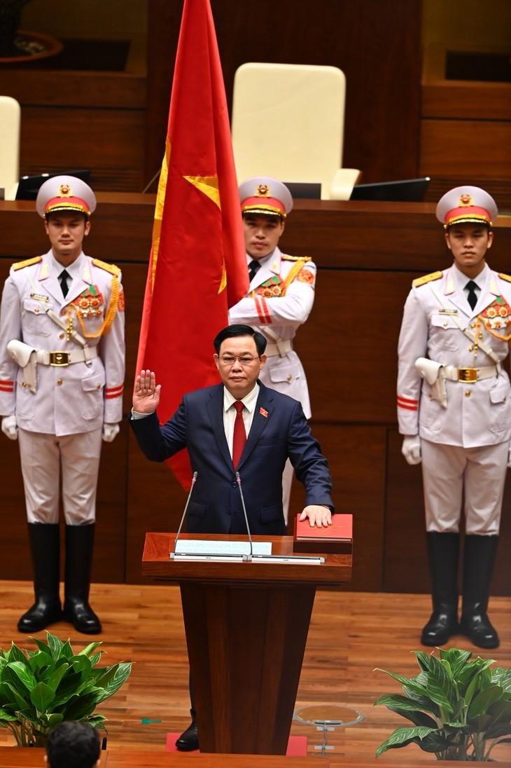 Vuong Dinh Hue zum Parlamentspräsident gewählt - ảnh 1
