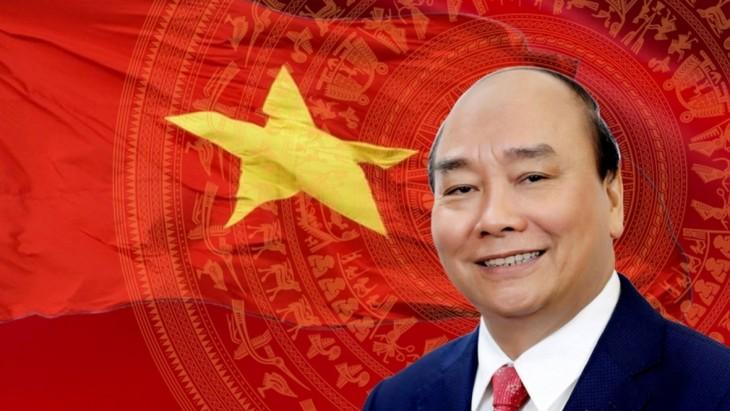 Spitzenpolitiker einiger Länder und des WEFs schicken Glückwunschtelegramm an neue Führung in Vietnam - ảnh 1