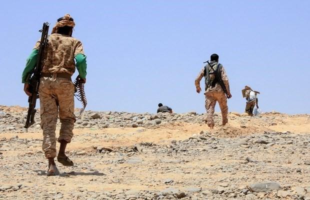 70 Menschen kommen bei Kämpfen im Jemen ums Leben - ảnh 1