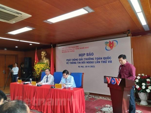 Pressekonferenz zum Start des Nationalpreis für auswärtige Informationsdienste - ảnh 1