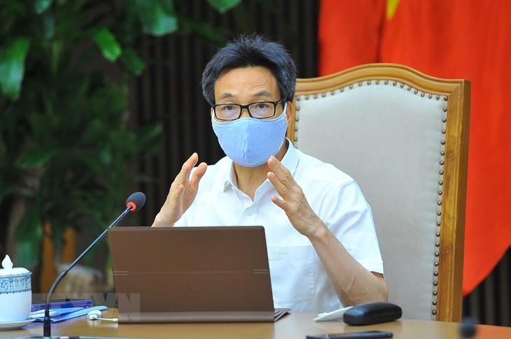 Sitzung des nationalen Verwaltungsstabs: Die Epidemie in Provinzen Bac Ninh und Bac Giang weiter bekämpfen - ảnh 1