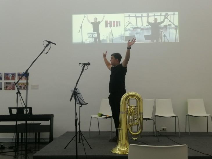"""Meisterkurs """"Hanoi Brass Week"""" verbindet Leidenschaft für Blasmusik - ảnh 1"""