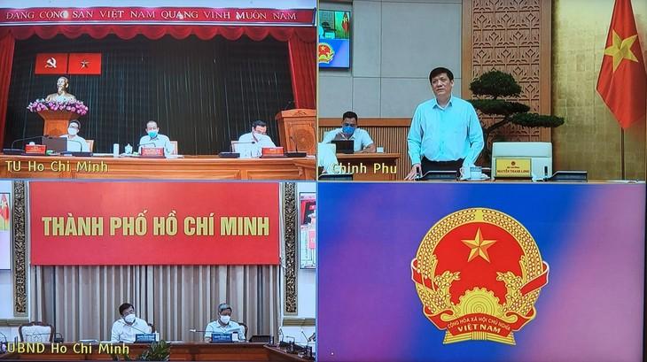 Forschung von effektiven Maßnahmen zur Covid-19-Bekämpfung in Ho Chi Minh Stadt und in umliegenden Gebieten - ảnh 1