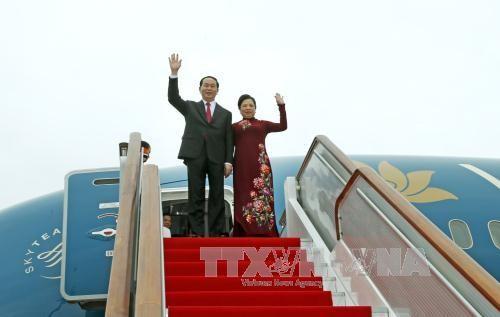President Tran Dai Quang visits Russia - ảnh 1
