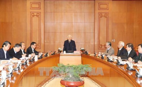 Party chief urges trial of major corruption cases in next 3 months  - ảnh 1
