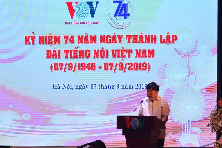 VOV celebrates 74th anniversary  - ảnh 1