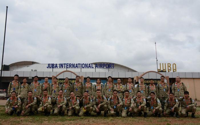 Vietnamese medics in South Sudan - ảnh 1