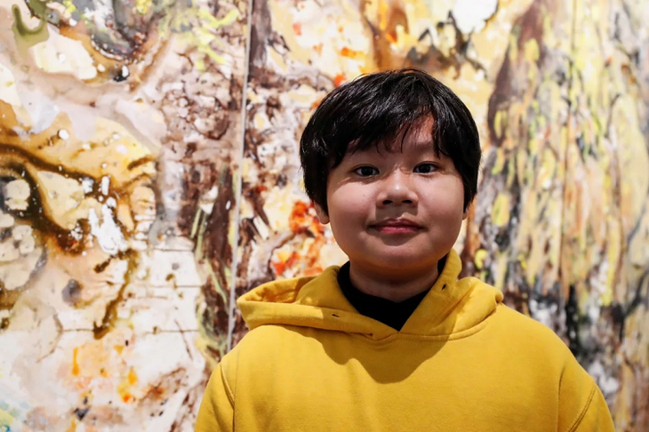 Young Vietnamese painter set sales records in US - ảnh 1
