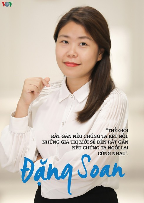 """Young journalist aspires to see Vietnam """"step out into the world"""" - ảnh 1"""