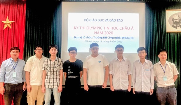 Vietnam bags six medals at 13th Asia-Pacific Informatics Olympiad - ảnh 1
