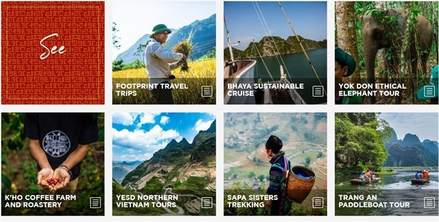 Web page launched for green travel in Vietnam - ảnh 1