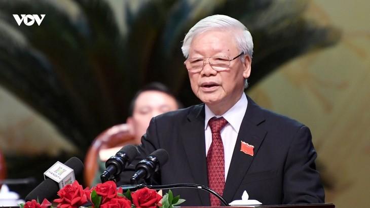 Hanoi provides important development momentum for Vietnam: Party leader - ảnh 1