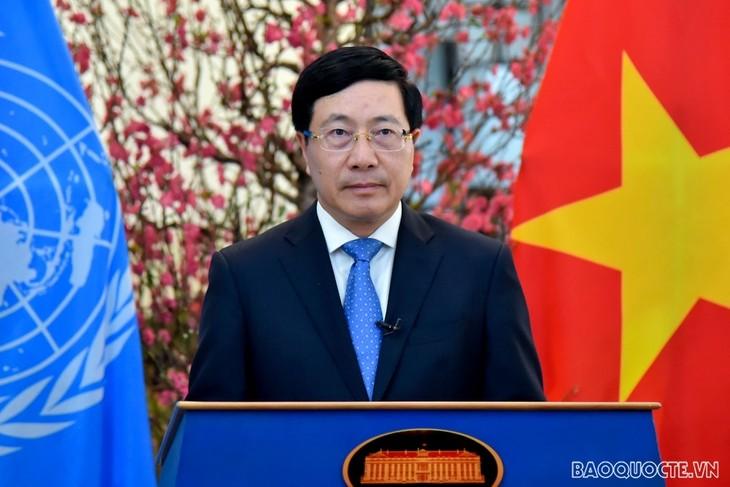 Deputy PM addresses high-level segment of UNHRC's regular session - ảnh 1
